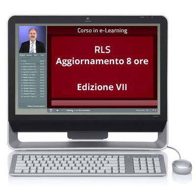 Corso online in e-Learning - RLS Aggiornamento 8 ore - Edizione VII
